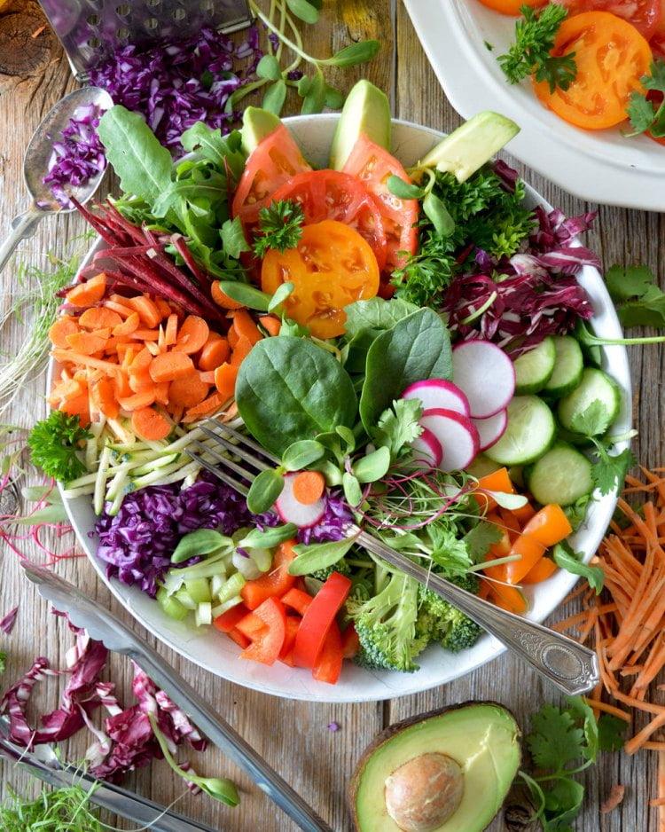 dieta warzywno owocowa